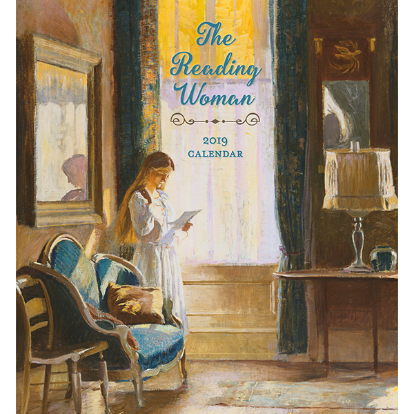 The Reading Woman Wall Calendar 2019