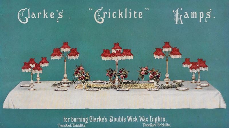 Clarke's Cricklite Lamps