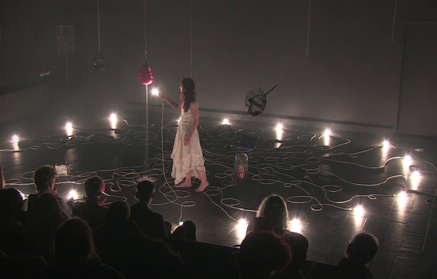 Natasha Davis Show: Internal Terrains, Chelsea Theatre, London 2013 (C1214/143)
