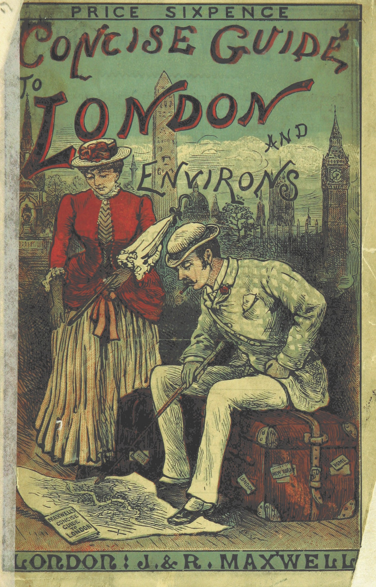Book cover Concise Guide to London 1885