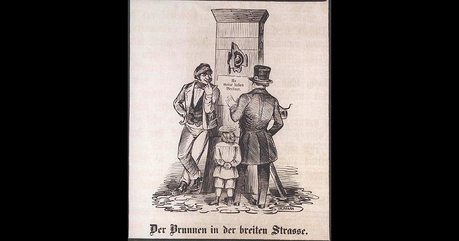 Sendschreiben des Granaten-Brunnens in Berlin an seine Collegen, die Brunnen in den Provinzen