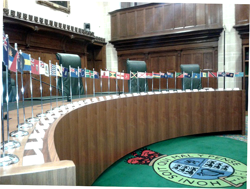 Privy Council courtroom