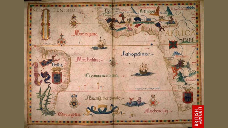 Diogo Homem, Queen Mary Atlas. 1558