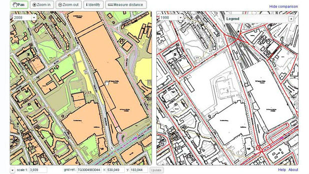 Digital mapping - The British Liry on