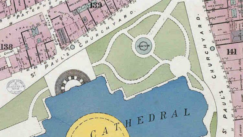 Centre London Map.Fire Insurance And Shopping Centre Plans The British Library