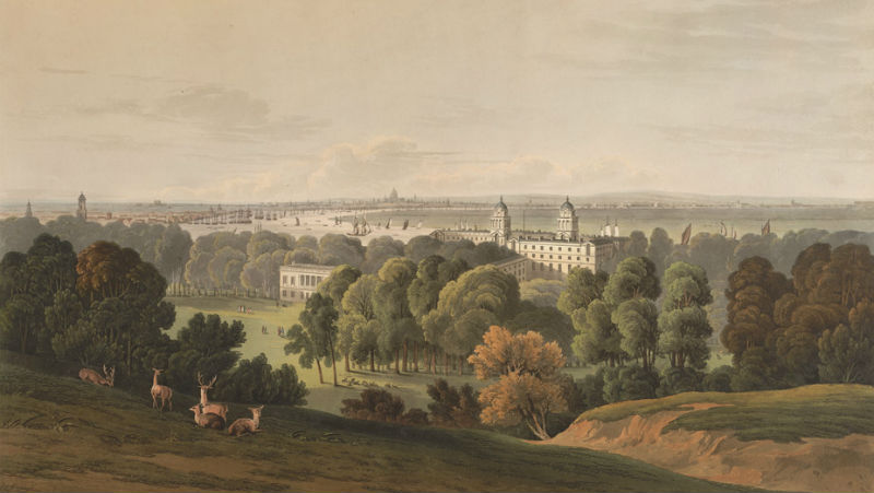 A View of London from Greenwich Park