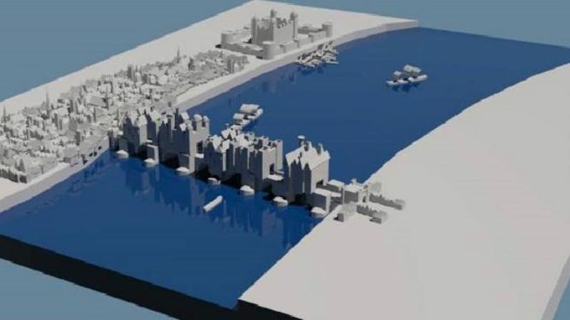 Whitebox model of London Bridge
