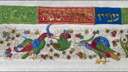Illuminated word panel featuring two birds