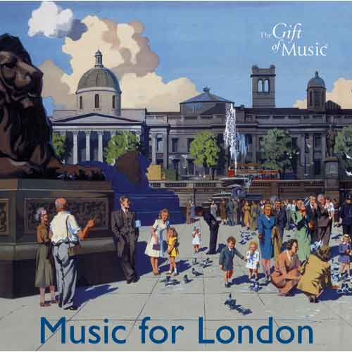 Music for London (audio CD)