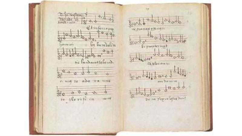 John Taverner, Mass 'The western wynde'Add. 17803, ff. 23v-24r