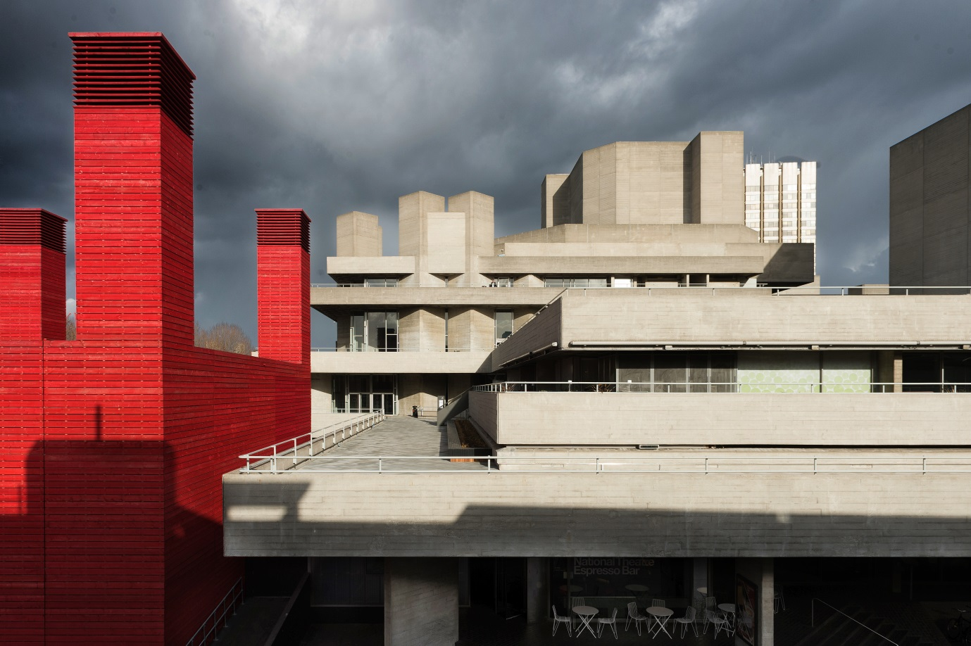 National Theatre and the Shed