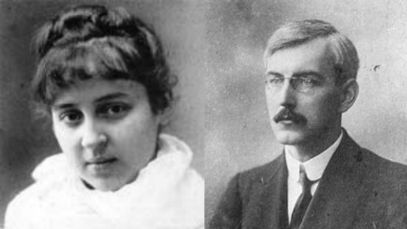 Harold Whitmore Williams and Ariadna Vladimirovna