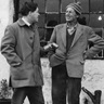 Stanley Ellis (SED fieldworker) and Tom Maddison  c.1967