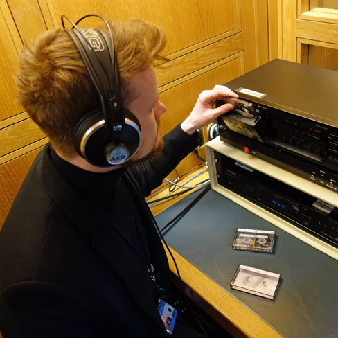 Listening and Viewing Service box