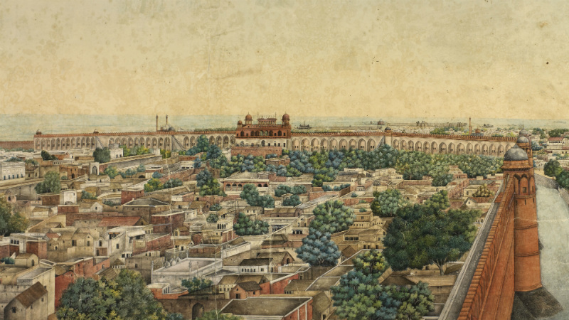 Section of Delhi Panorama