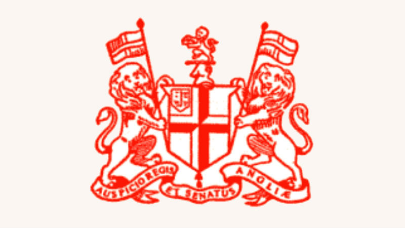 Arms of the United Company of Merchants Trading to the East Indies