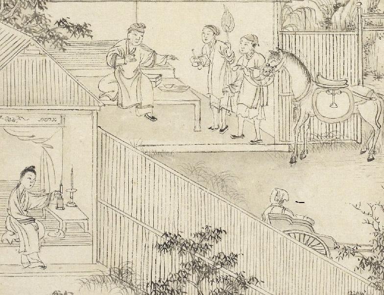 Scene from Truyền Kiều