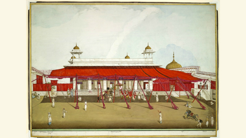 Indian marquee