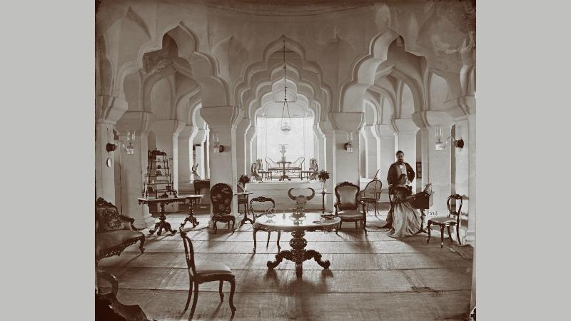 Edmund David Lyon, Interior of the Tuncum at Madurai