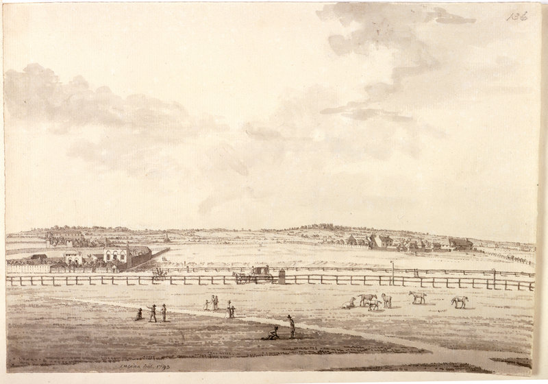Drawing of Hampstead