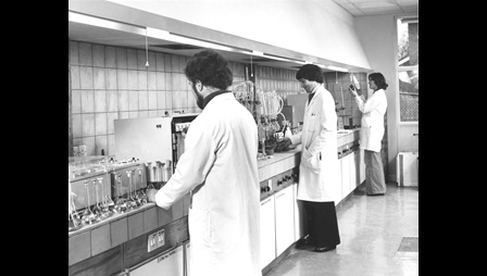 Saltford laboratory, late 1970s