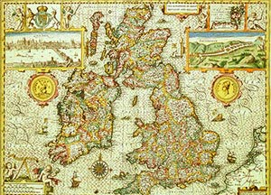 Map Of Uk 1500.Project Historical Outline