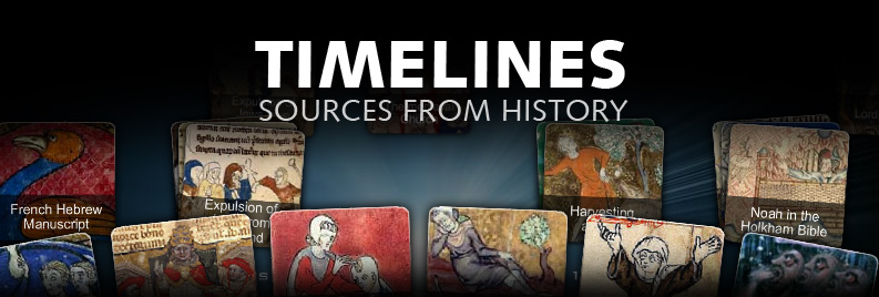 timelines sources from history