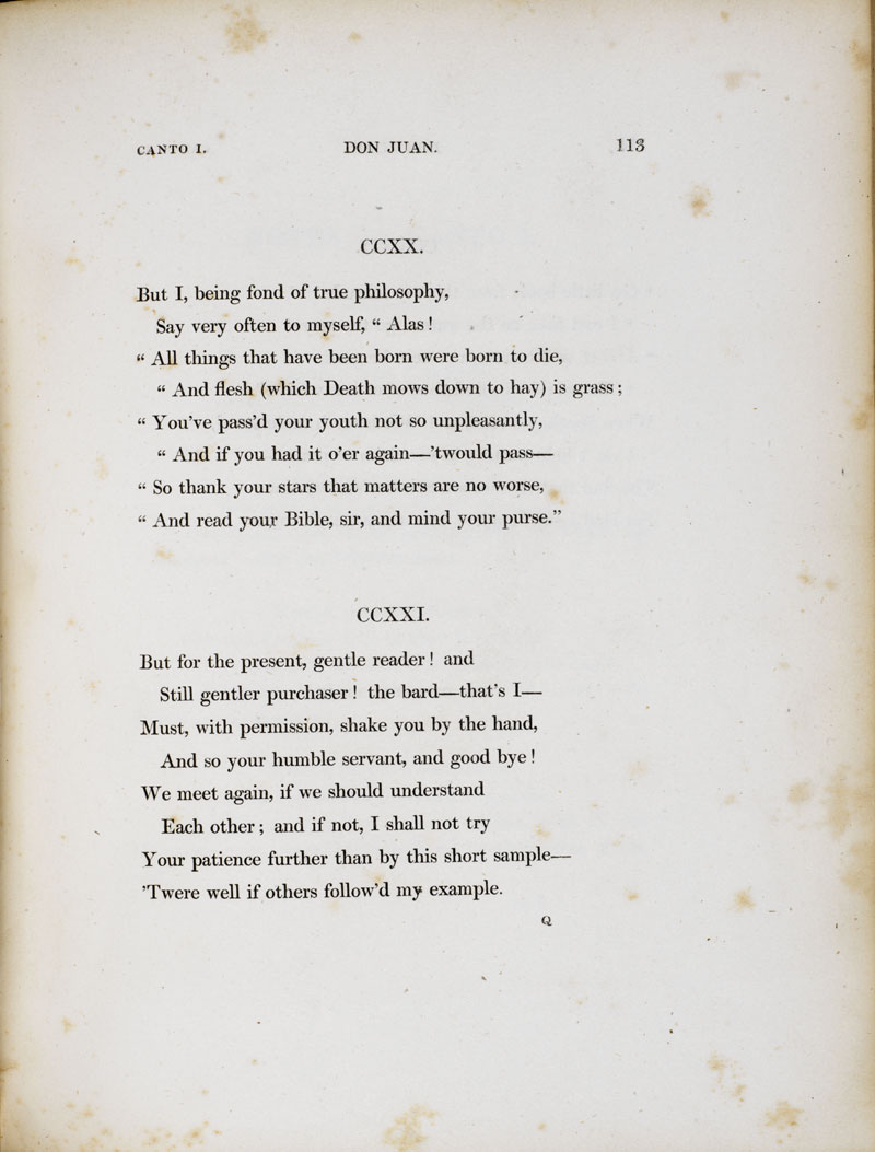 Don Juan, by Lord Byron