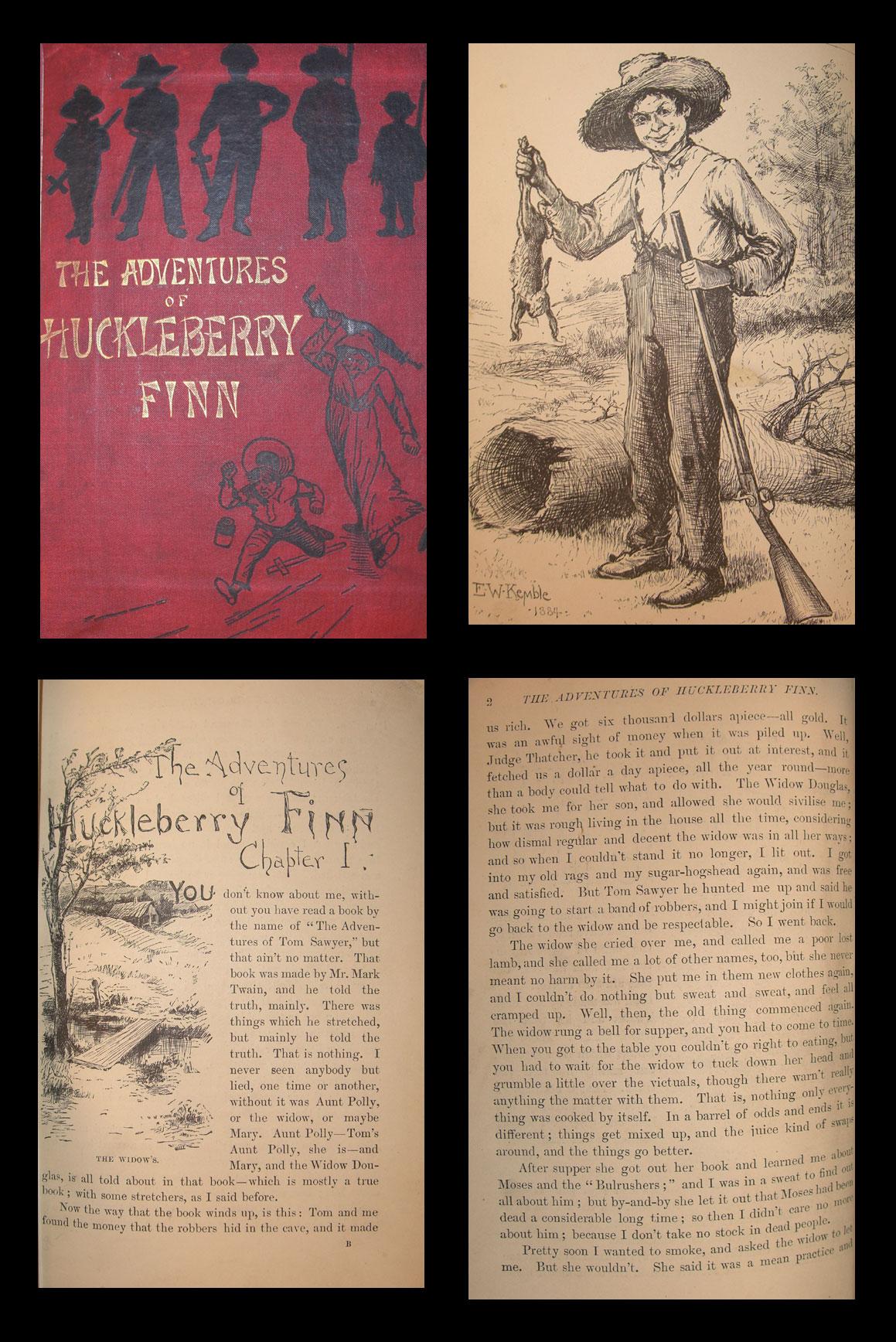 huckleberry finn dialectical journals