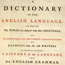 Johnson's Dictionary