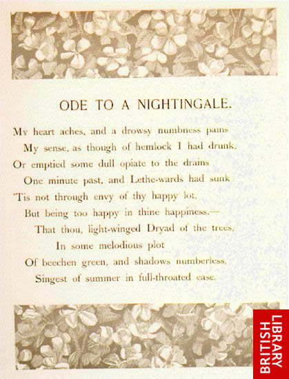 Keats Ode To A Nightingale
