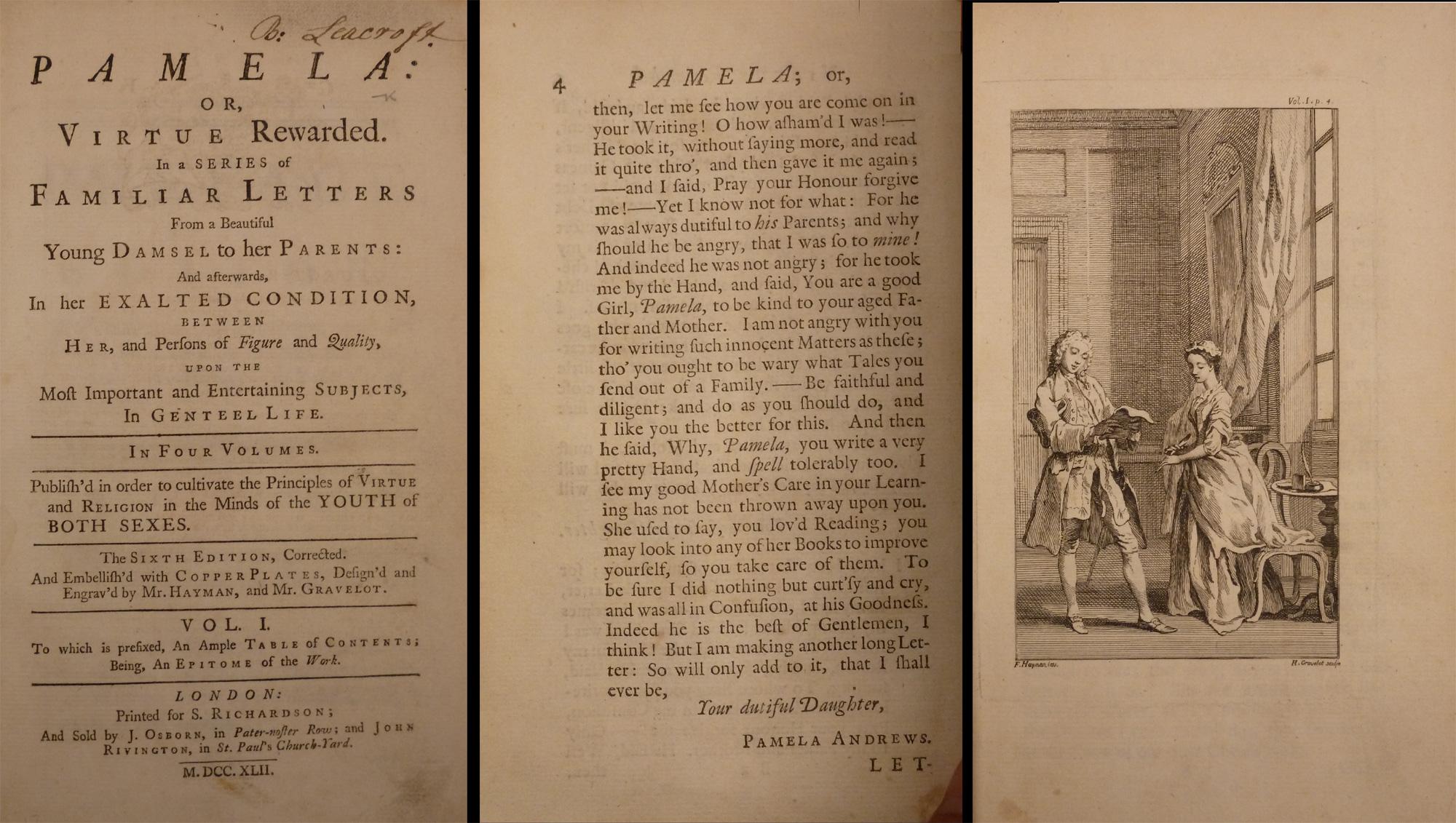 A general overview of samuel richardsons novels