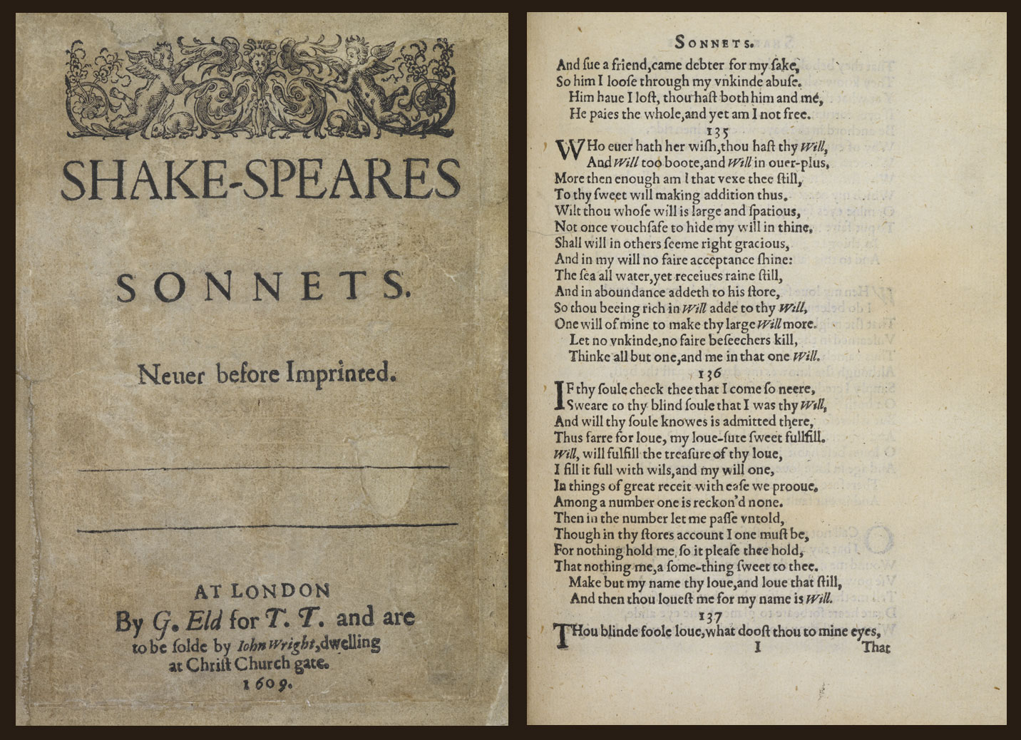 Much of sonnet 116 is given
