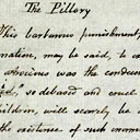 Diary entry on 'The Pillory'