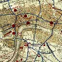 Map of the Gordon Riots