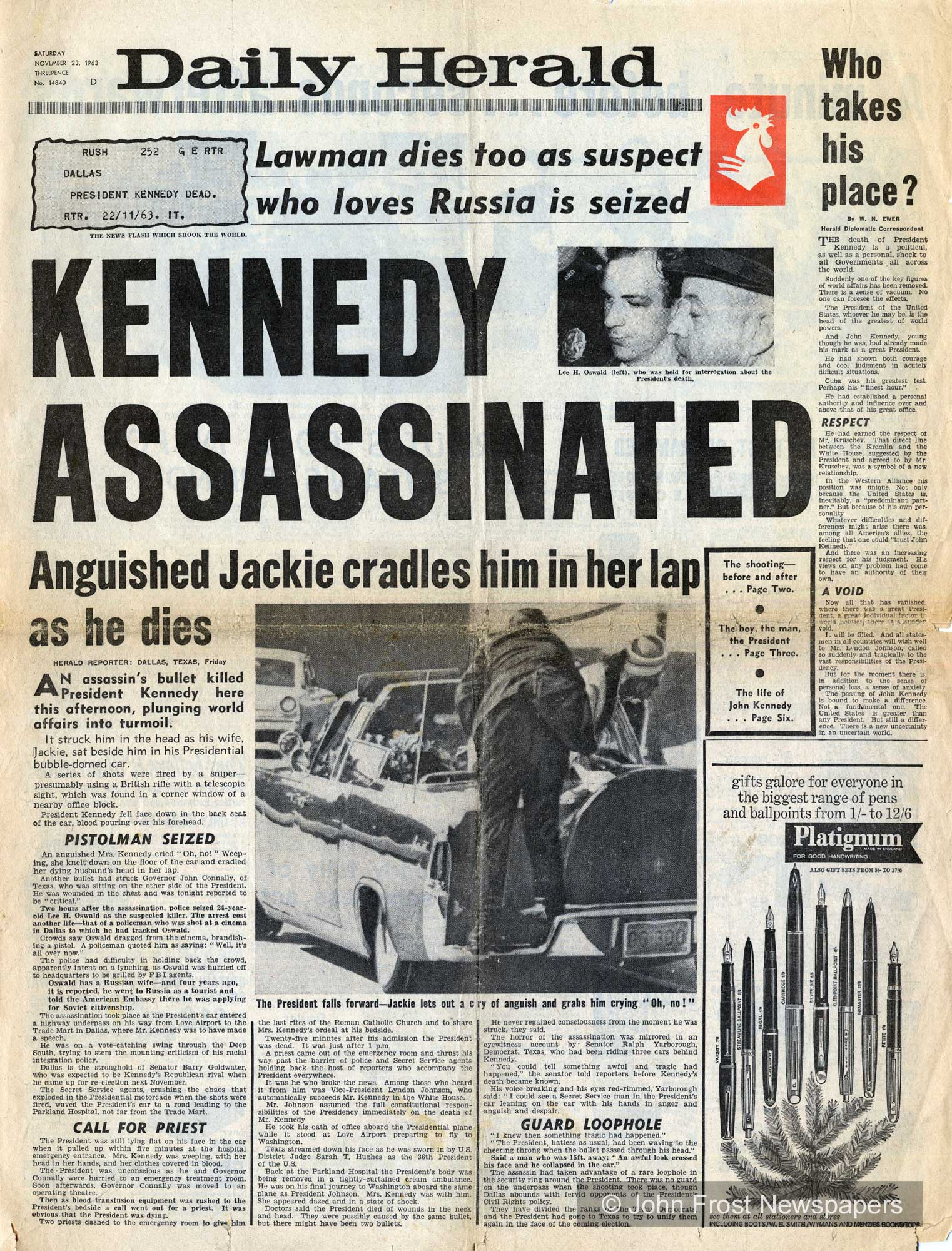 JFK Assassination: Modern Forensic Science Could Finally Solve Shooting Mysteries