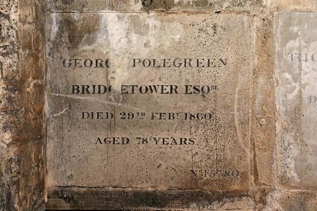Bridgetower's grave in Kensal Green cemetery