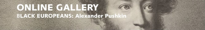 Black Europeans: Alexander Pushkin