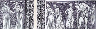 Image from the Kelmscott Chaucer