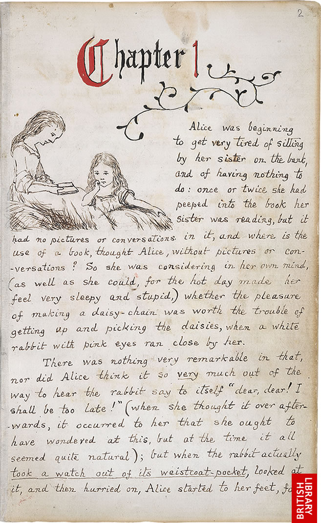 Page 1 >> Virtual Books Images Only Lewis Carroll S Alice S