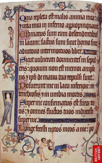 Virtual books: images only - The Luttrell Psalter: Page 13