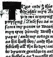 Caxton's postscript to Recuyell of the Histories of Troy
