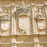 Plateresque façade of University of Salamanca (16th century)