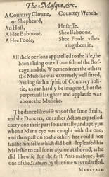 Second antimasque dance. Francis Beaumont, The Masque of the Inner Temple and Grayes Inne