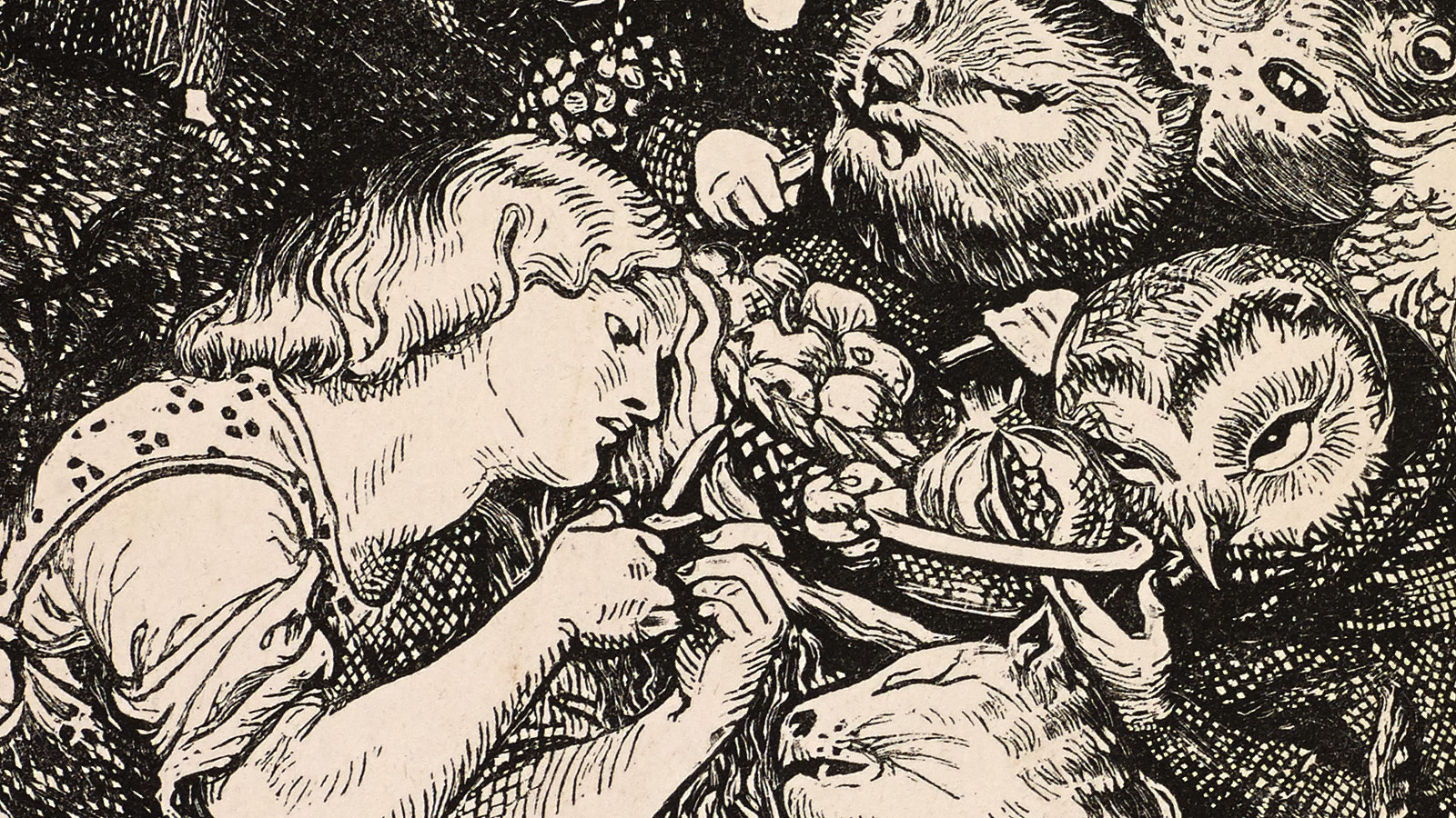 introduction to goblin market rossetti Nearly all of the objects and characters in christina rosssetti's poem goblin market- are symbolic of theories or ideas from the christian religion.