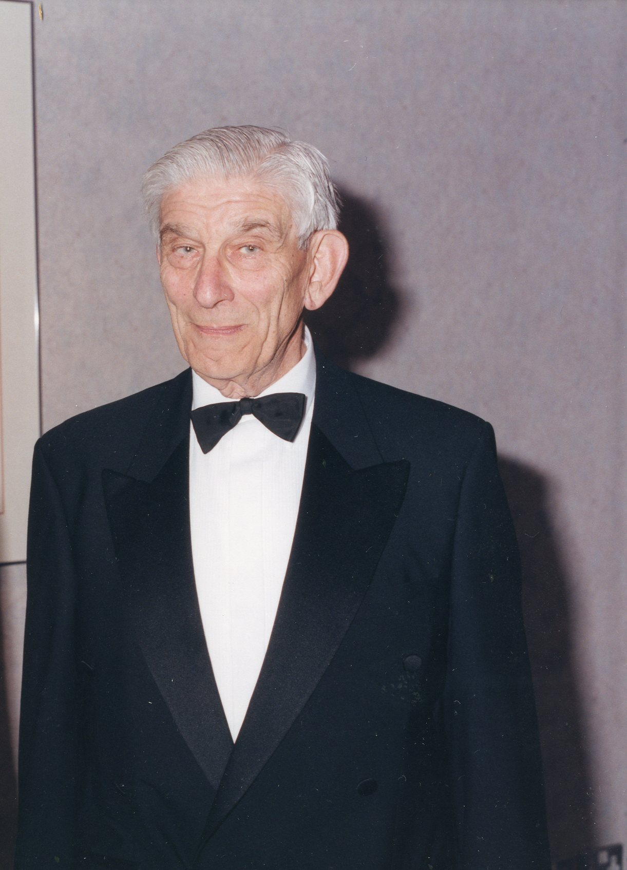 Peter Trier at his Farewell Dinner at Brunel University, 1999 © Brunel University