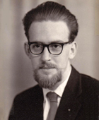 Bob Parkinson after the award of his PhD, 1965