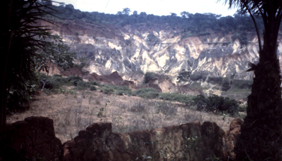 Gully erosion in south-east Nigeria, late 1940s