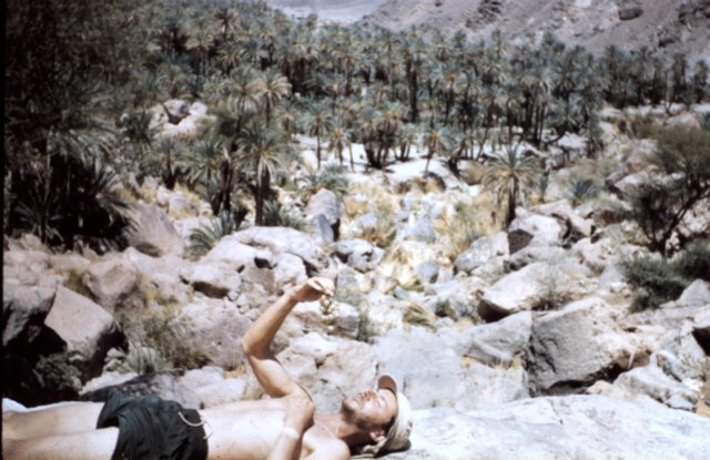 Dick Grove at Goubonne, Chad, 1957