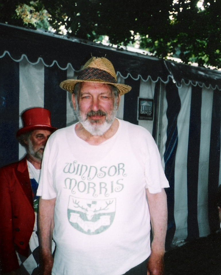 Roy Dommet in Sidmouth, 2004